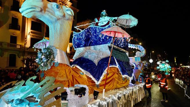 Cabalgata de Reyes en Santander