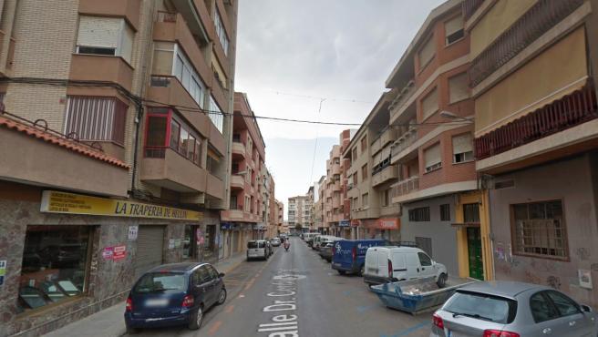 Calle Doctor Cerda Martí de Hellín en Google Street View