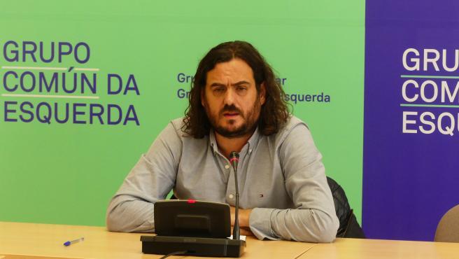 El diputado Antón Sánchez