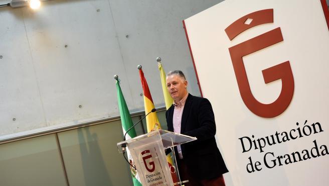 El diputado provincial de Obras Públicas y Vivienda, José María Villegas.
