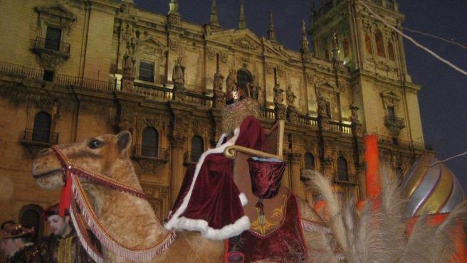 Foto de archivo de la cabalgata de Jaén