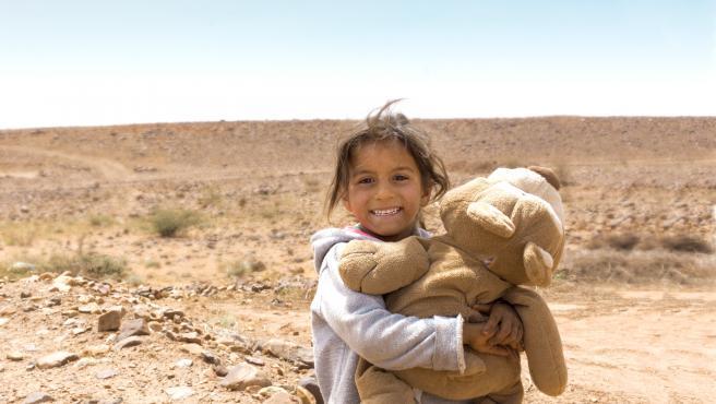 Fotografía de la exposición 'Sonrisas del Atlas'