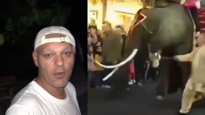 Vídeo de Frank Cuesta donde denuncia el caso de la elefanta de Medina del Campo.