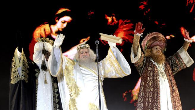 Imagen de archivo de la cabalgata de Reyes de Madrid.