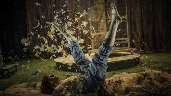 Obra 'Olivia y las plumas', de La Machina Teatro