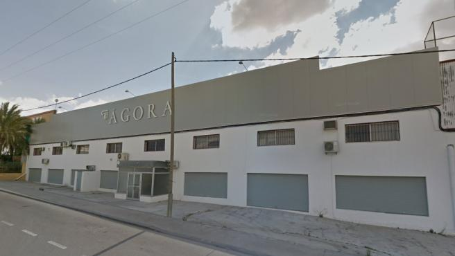 Sala de celebraciones donde se produjo la intoxicación, en Molina de Segura.