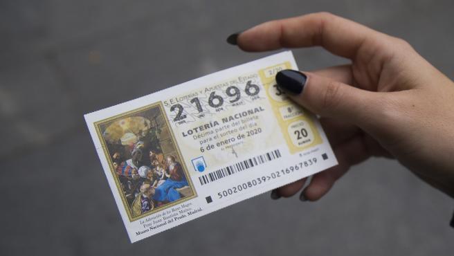 SEVILLA, 03.01.20 Imágenes de recurso de la Lotería del Niño.