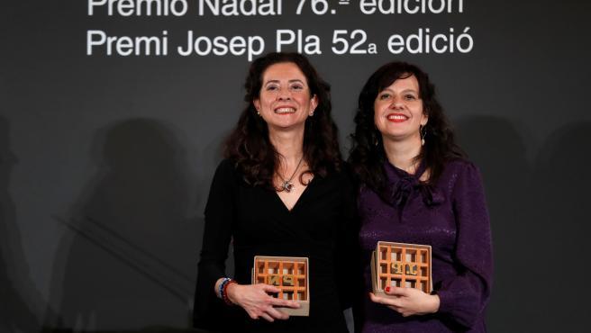 Ana Merino y Laia Aguilar ganadoras del 76 Premio Nadal y del 52 Josep Pla, respectivamente