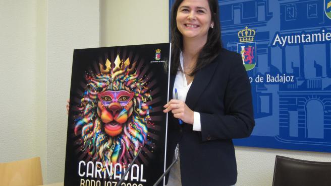 Cartel anunciador del Carnaval de Baadjoz