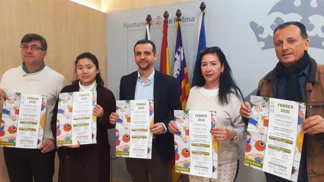 El regidor de Educación y Política Lingüística del Ayuntamiento de Palma, Llorenç Carrió.