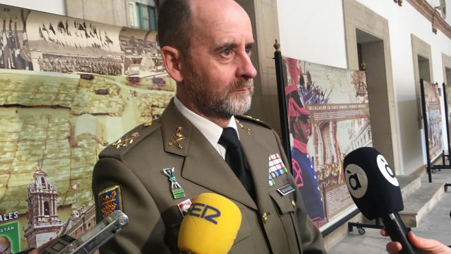 García-Vaquero, jefe del Cuartel General Terrestre de Alta Disponibilidad