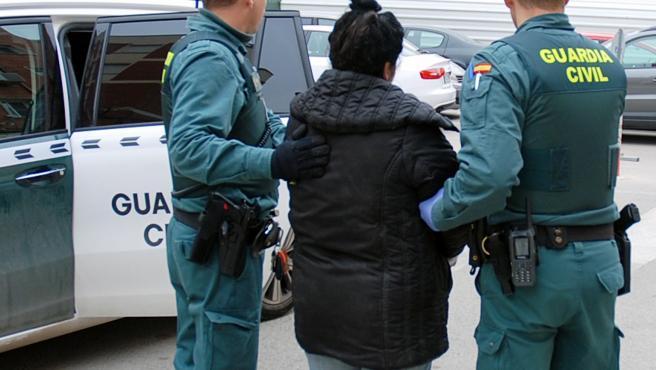 Guardia Civil detiene a una mujer buscada por la justicia griega por un homicidio