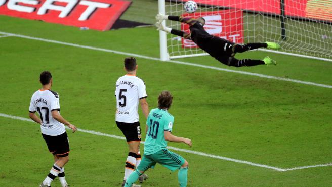 Modric sentenció la victoria del Madrid con una acción estelar.