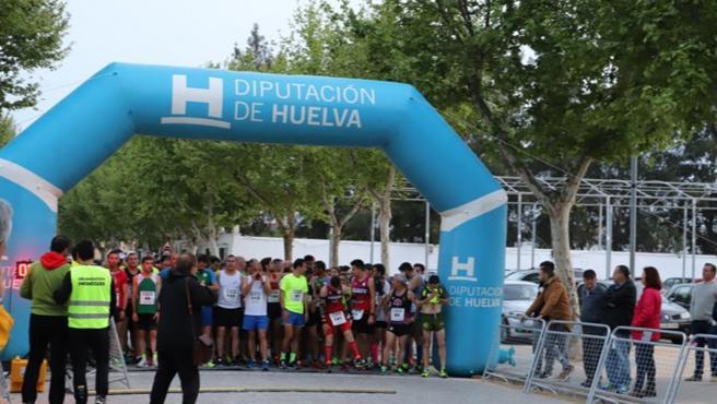 Carreras populares, impulsadas por la Diputación de Huelva.