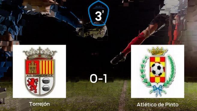 El Atlético de Pinto se lleva la victoria después de vencer 0-1 a la AD Torrejón CF