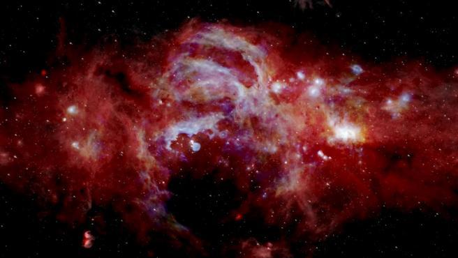 El centro de la Vía Lácte