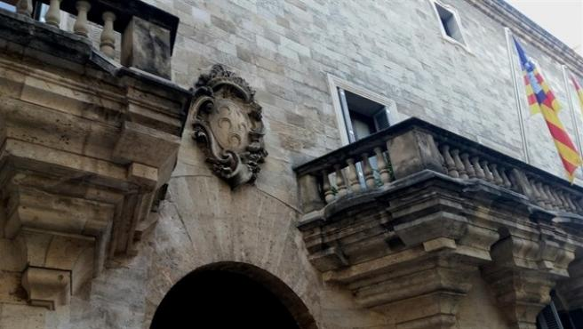 Fachada de la Audiencia Provincial de Baleares.