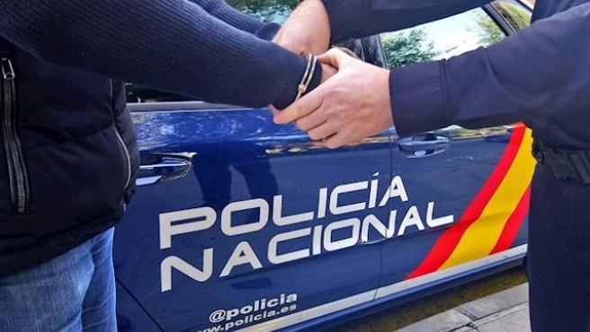 Foto de archivo de una detención realizada por la Policía Nacional.