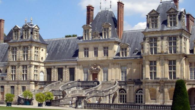 Imagen del castillo de Fontainebleau, uno de los mayores palacios reales franceses.
