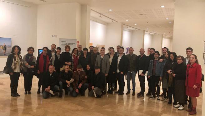 Cultura reúne en el Auditorio regional obras de los 67 artistas que han participado en el 'Plan de Espacios Expositivos'