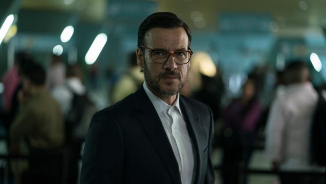 Daniel Grao, caracterizado para la serie 'Perdida'.