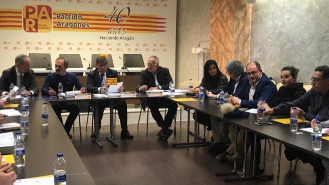 """El PAR propone colaborar con el Gobierno de Sánchez y no consentirá que se bloqueen temas regionales a """"capricho"""" de ERC"""