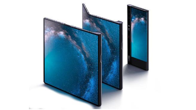 El llamativo Huawei Mate X