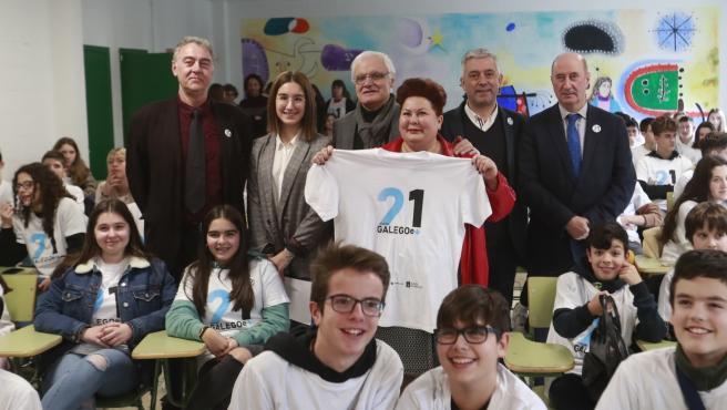 Presentación de '21 días co galego e +'