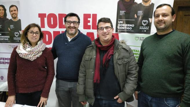 Reunión de dirigentes de IU en Ronda para abordar asuntos que atañen al interior de la provincia