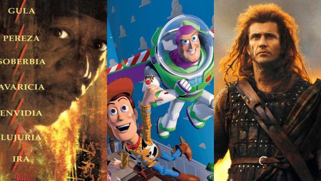 'Braveheart', 'Seven' o 'Toy Story': las películas que cumplen 25 años este 2020