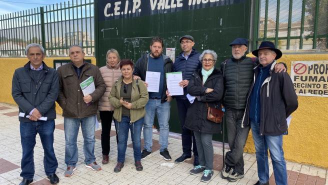 Adelante Málaga se opone a la construcción de un aparcamiento bajo el colegio Valle Inclán y pide alternativas