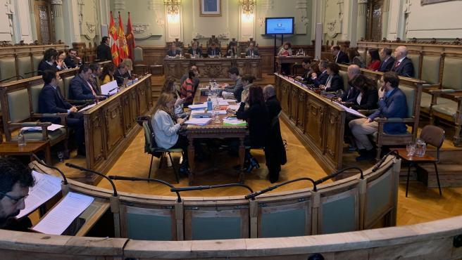 El Ayuntamiento de Valladolid, con abstención de Vox, reclama a la Junta que aporte la cantidad comprometida en la Feria