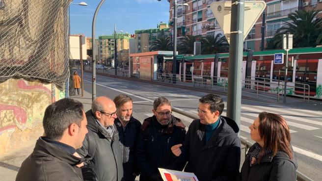 El PSOE exige una nueva línea de metro por el centro que una los barrios de Chana y Genil