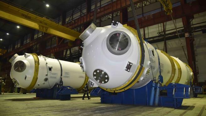 Ensa embarca dos generadores de vapor para centrales nucleares en Francia