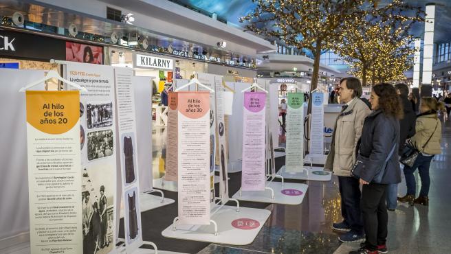 intu Asturias muestra las tendencias de los últimos cien años a través de la exposición '1920-2020. Un siglo de moda'