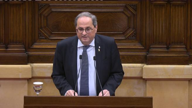 Los letrados del Parlament rechazan que la JEC decida sobre Torra
