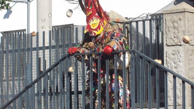 Piornal (Cáceres) se prepara para la fiesta de Jarramplas, que recibirá la lluvia de 28.000 kilos de nabos