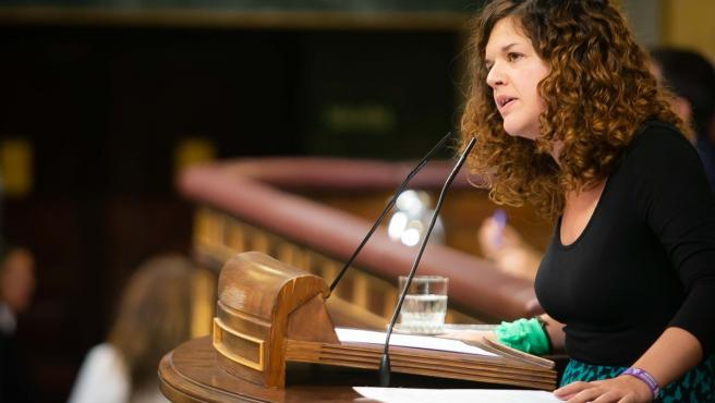 Sofía Castañón será portavoz adjunta de Unidas Podemos en el Congreso