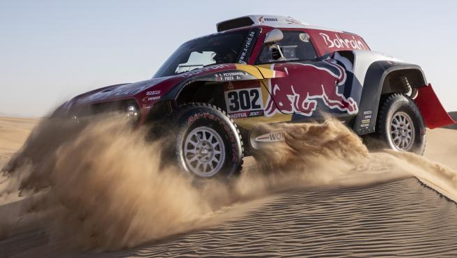 Stepháne Peterhansel, durante el Dakar 2020.