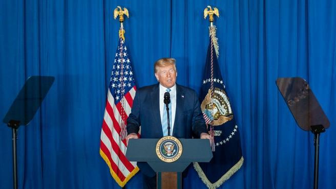 """Trump defiende el asesinato de Soleimani, """"el terrorista número uno del mundo"""""""