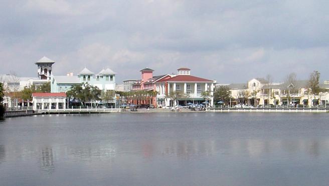 Imagen de archivo del centro de Celebration (Florida, EE UU), una urbanización desarrollada por The Walt Disney Company.
