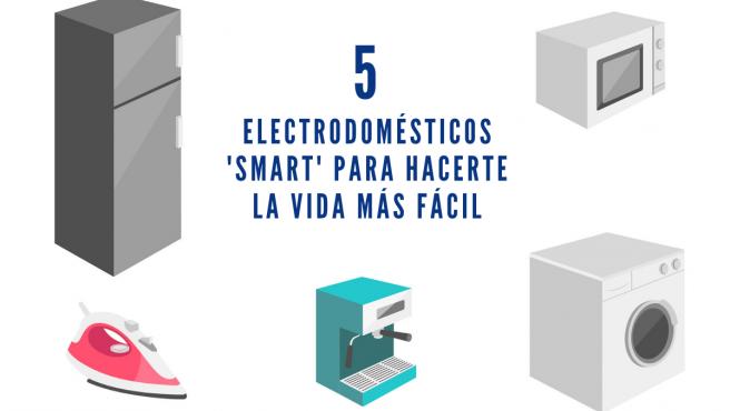 Cinco electrodomésticos inteligentes para hacerte la vida más fácil