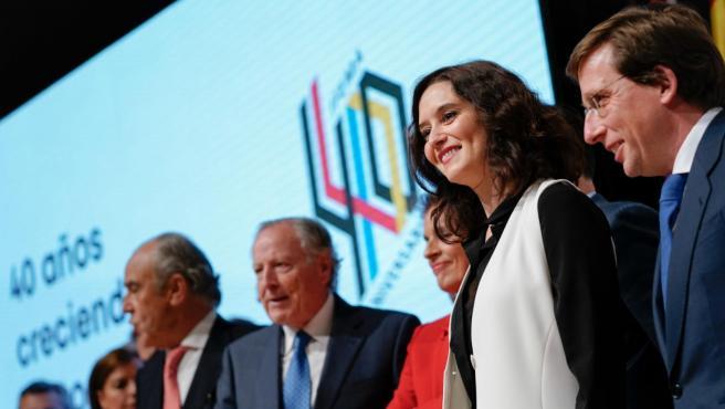 Isabel Díaz Ayuso participa en los actos del cuarenta aniversario de Ifema.