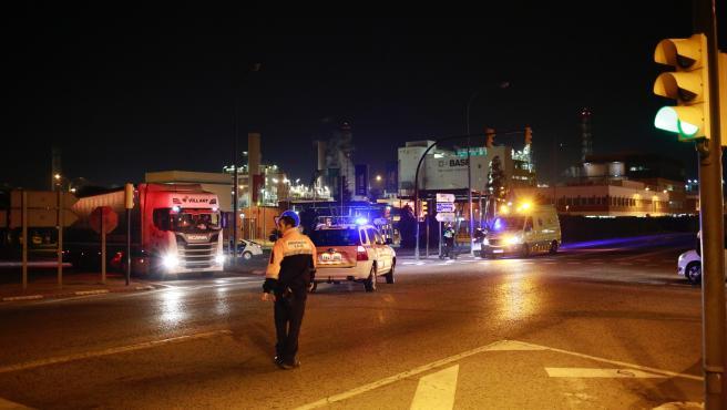 Se recupera la circulación ferroviaria en Tarragona tras la explosión de La Canonja (Tarragona)
