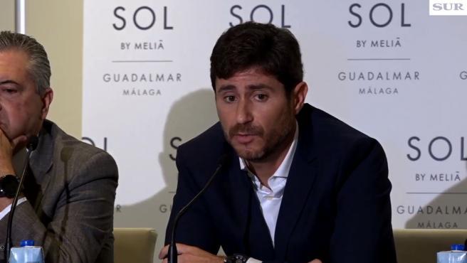 Víctor Sánchez del Amo, en rueda de prensa.