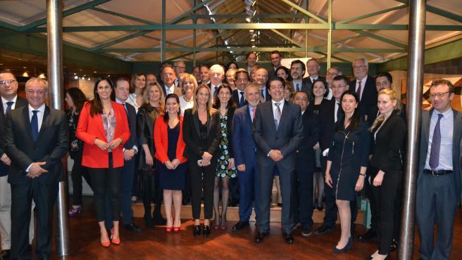 Blanca Martín asiste a la recepción oficial con motivo del I Comité Permanente de la CALRE