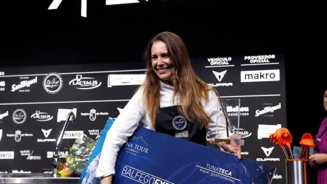 La sevillana Camila Ferraro es la primera mujer que gana el premio Cocinero Revelación de España, de Madrid Fusión.