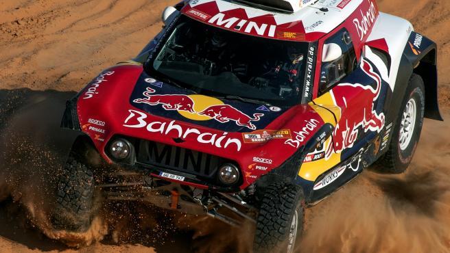 Carlos Sainz, durante el rally Dakar.