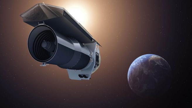 Dibujo del Telescopio Spitzer