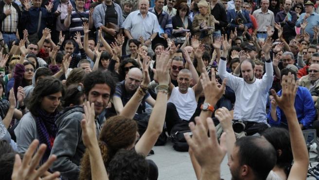 Las concentraciones que se extendieron por el país sería el origen, casi tres años después, de Podemos.